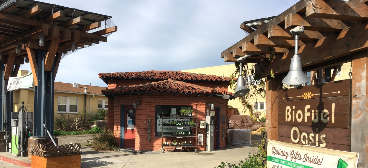 A worker-owned urban farm store and biodiesel station
